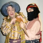 "Beach Vickers (left) as ""Poncho Sanza"" in Man of La Mancha.""  Unity Theater, TX"