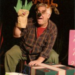 "Beach Vickers as ""Donner"" in ""The Eight: Reindeer Monologues.""  The Chance Theater, Anaheim Hills, CA"