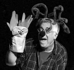"Beach Vickers as ""Donner"" in ""The Eight: Reindeer Monologues."" The Chance Theater, Anaheim, CA"