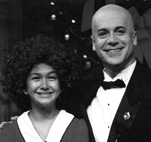 "Beach Vickers as ""Daddy Warbucks"" in ""Annie.""  Broadway Palm Dinner Theater, Ft. Myers, FL"